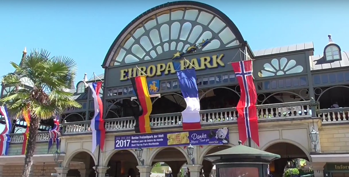 Der Europa-Park in Rust