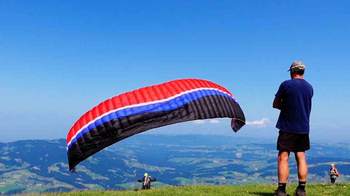 Gleitschirmflieger Flugschule Bregenzerwald
