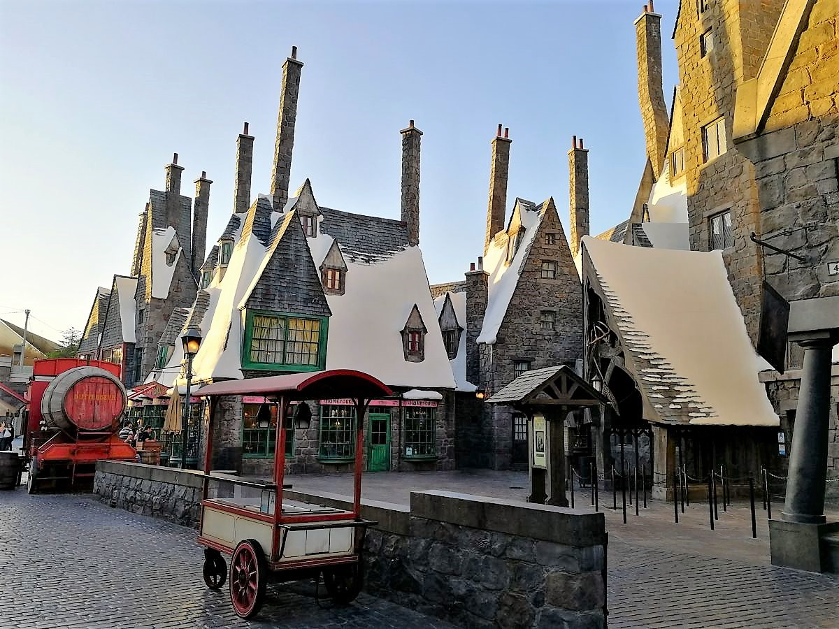 In Hogsmeade Universal Studios Hollywood