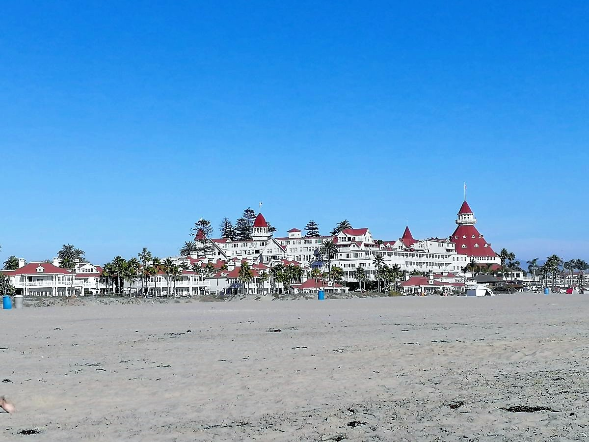 Hotel del Coronado am Coronado Beach