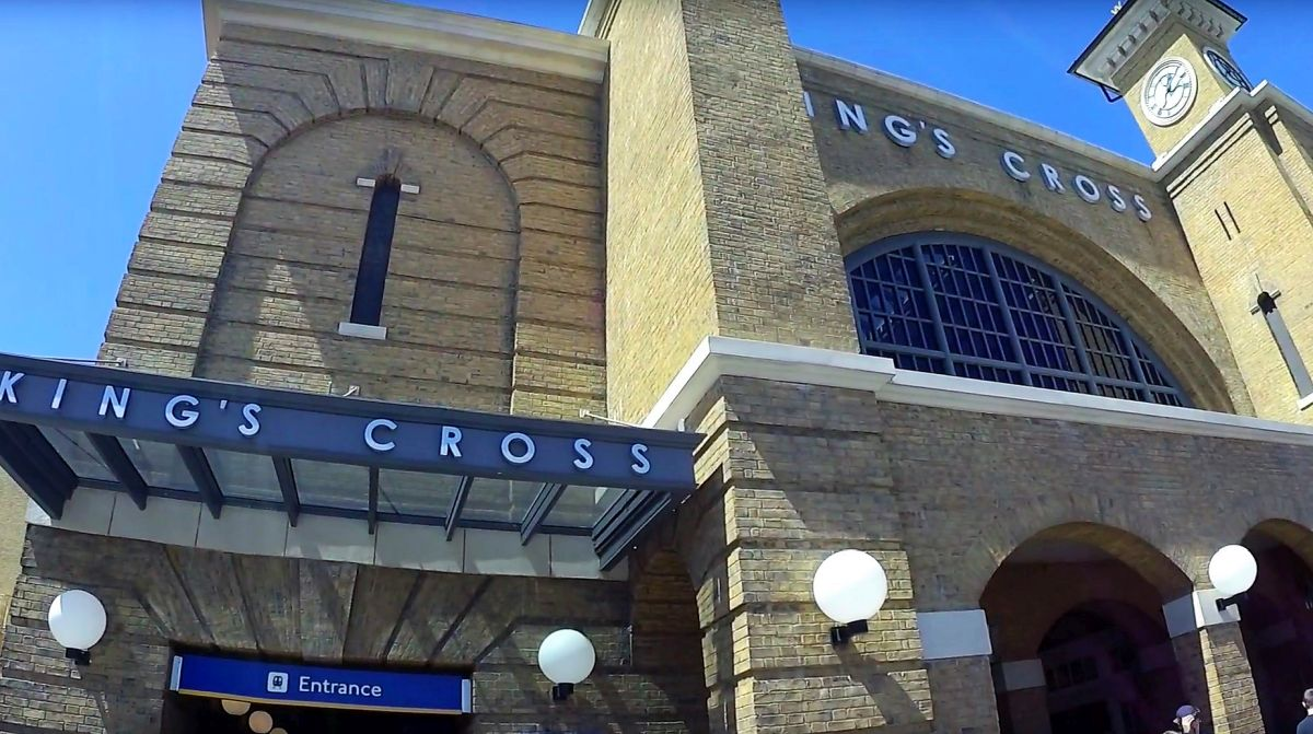Kings Cross Station in Universal Studios Florida