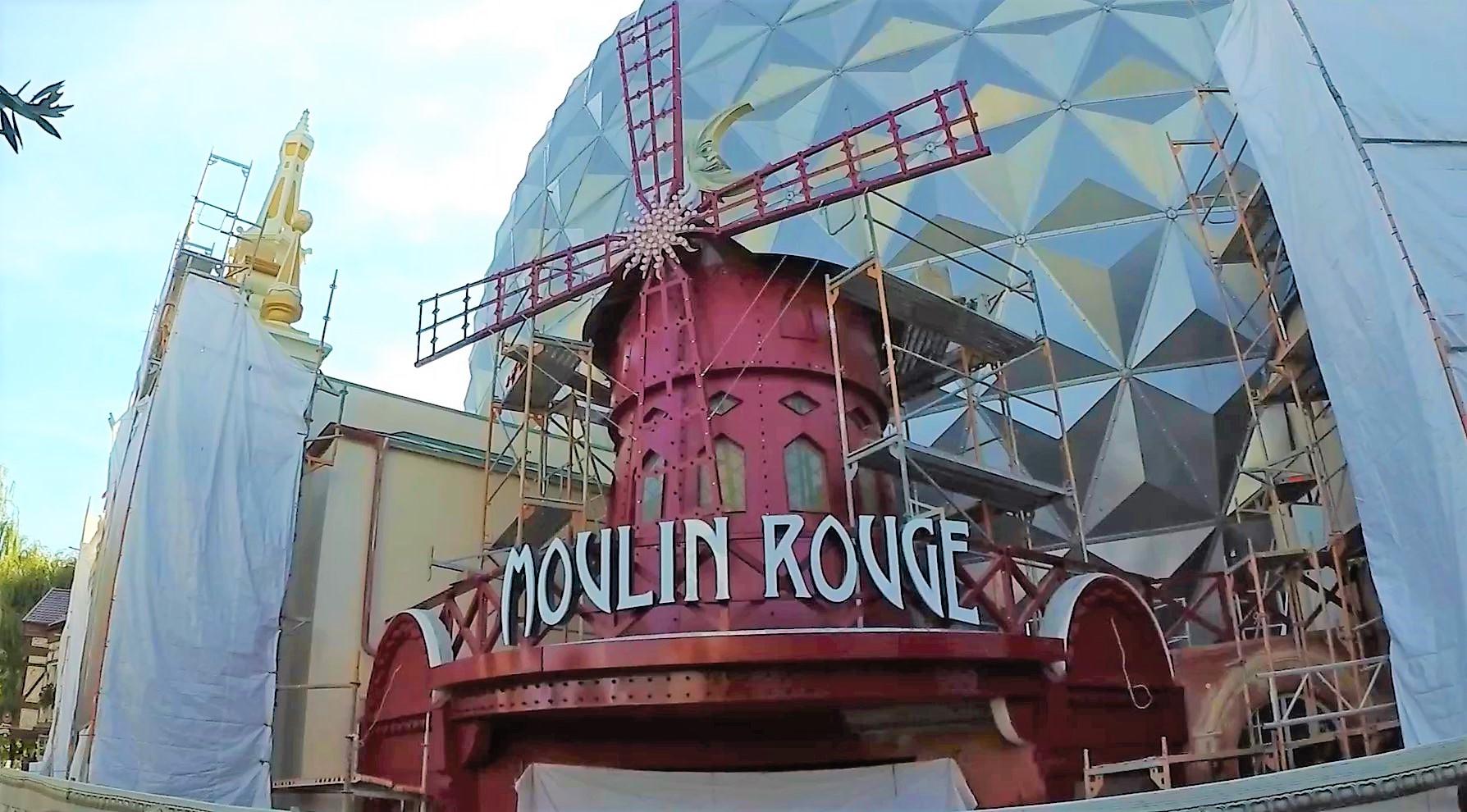Photo of Eurosat CanCan Coaster und das Moulin Rouge im Europa-Park