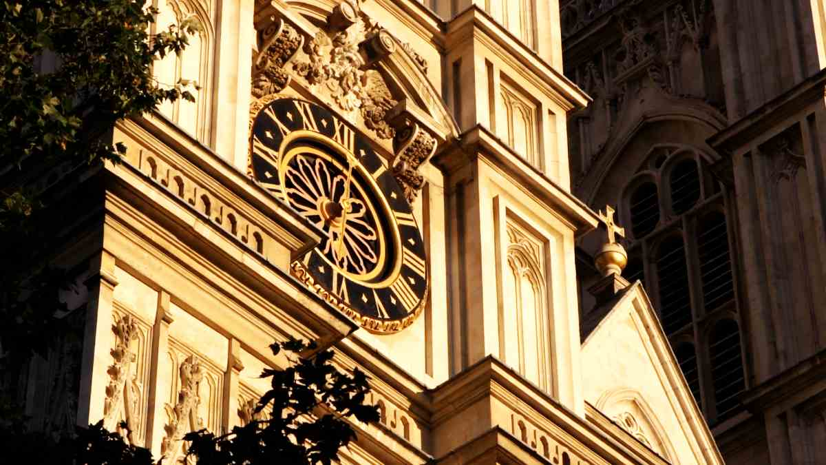 Turmuhr Westminster Abbey
