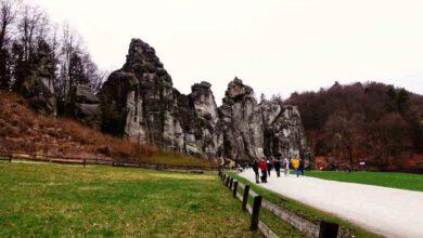 Photo of Externsteine in Horn-Bad Meinberg – Ausflugsziele Teutoburger Wald