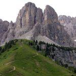 Bergpanorama Grödner Joch 2