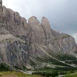 Bergpanorama Grödner Joch