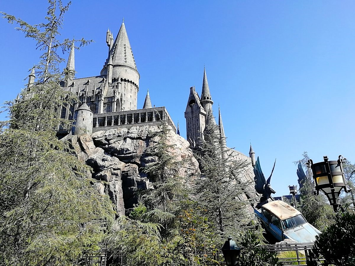 Hogwarts Castle Universal Hollywood