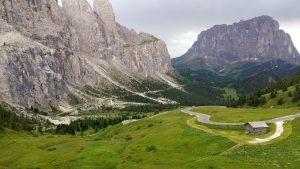 Gardena Pass oben