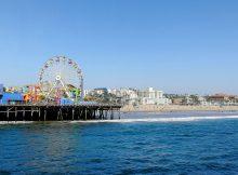 Santa Monica Pier mit dem Pacific Park
