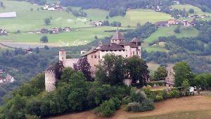 Ausblick auf Schloss Prösels