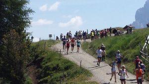 Seiser Alm Halbmarathon Läufer