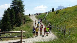 Seiser Alm Halbmarathon Anfang Juli
