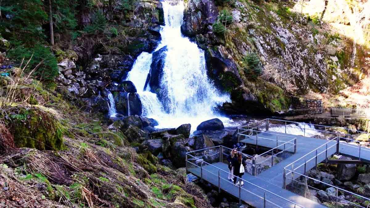 Triberger Wasserfall Aussichtsplattform