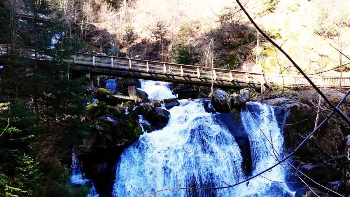 Brücke über den Triberger Wasserfall