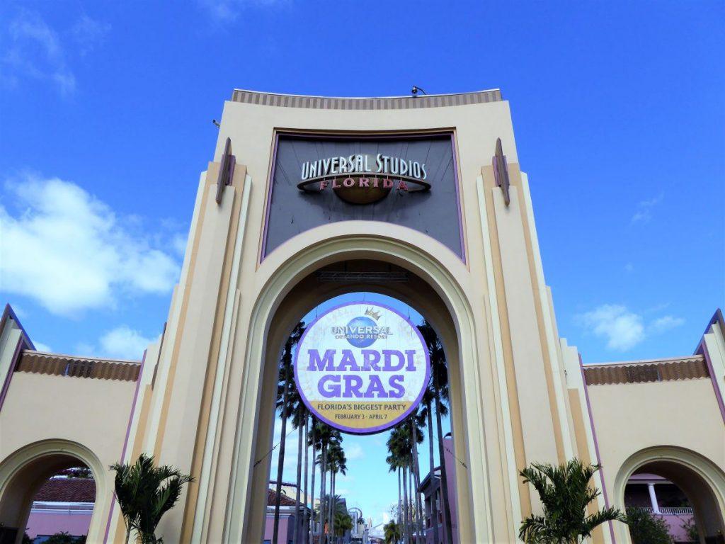 Eingang der Universal Studios Florida