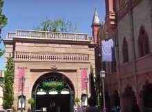 Eingang des Voletarium im Europa-Park