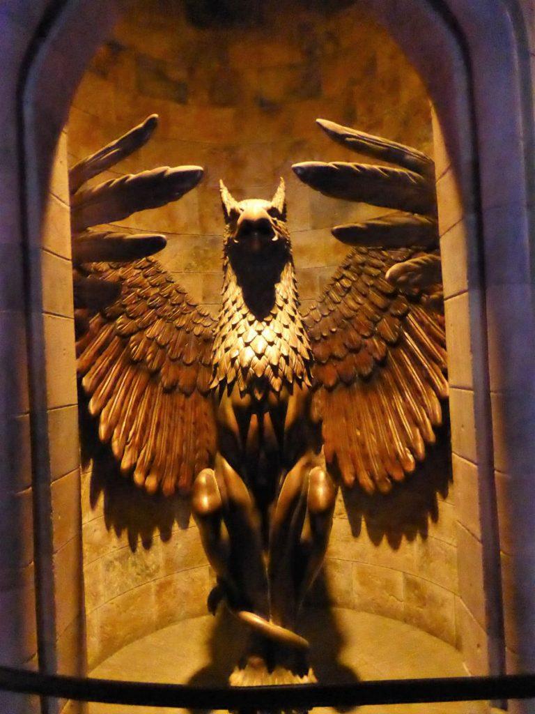 In der Waiting Line von Harry Potter and the Forbidden Journey