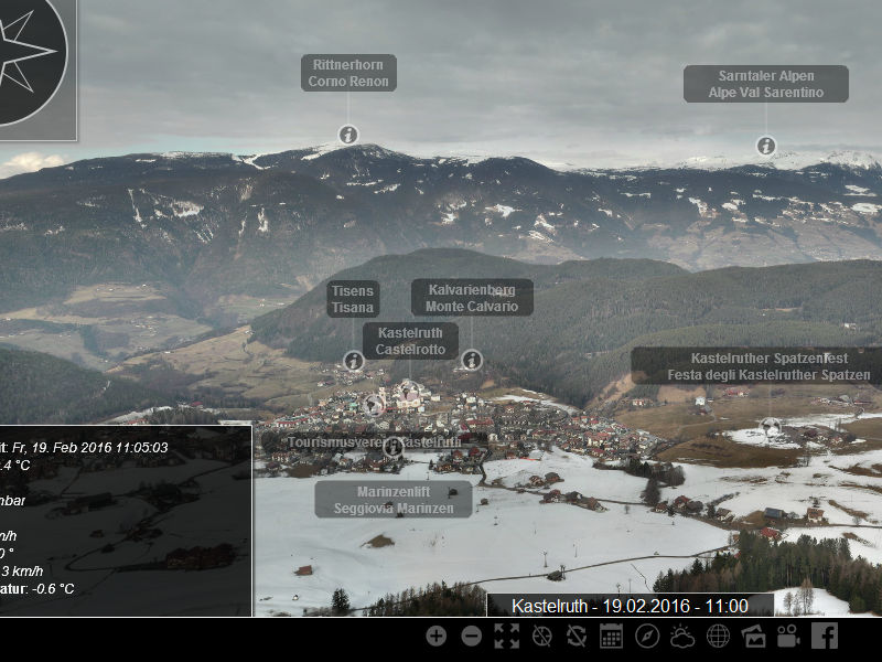 Photo of Live Webcam bei der Seiser Alm – Kastelruth, Völs, Seis und Compatsch