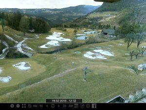 Webcam auf dem St. Vigil Golfplatz