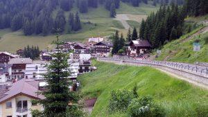 Wolkenstein vor Gardena Pass